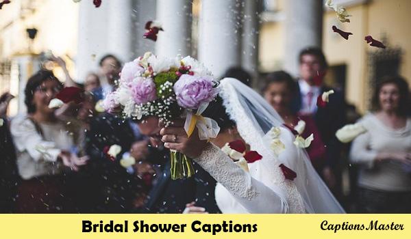 Bridal Shower Captions For Instagram