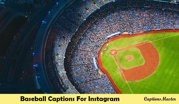 Baseball Captions For Instagram