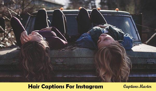 Hair Captions For Instagram