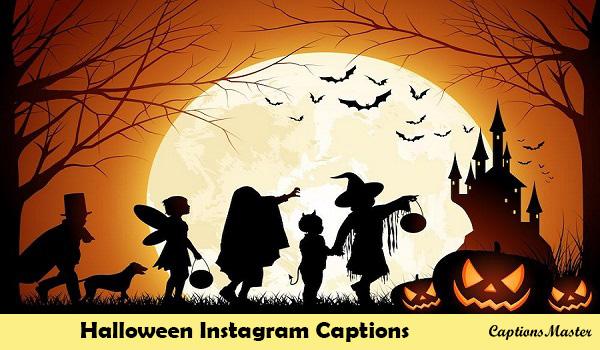 Halloween Instagram Captions