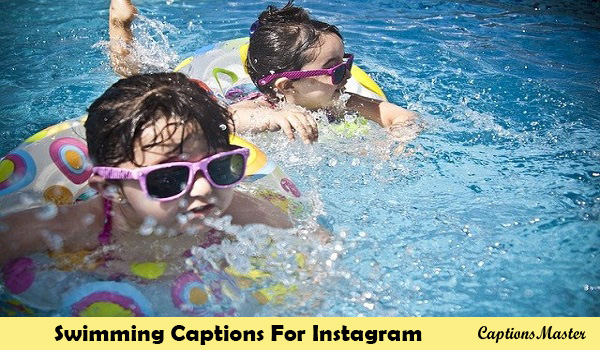 Swimming Captions For Instagram